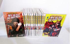 Coleção De Mangás My Hero Academia Vols. 1 Ao 14, Ed. Jbc