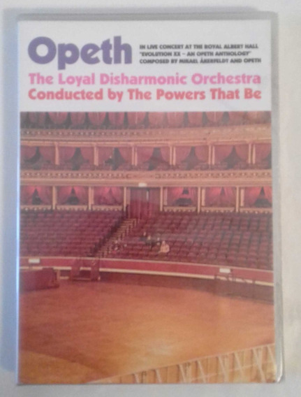 Opeth - In Live Concert At The Royal Albert Hall 2 Dvd Nuevo