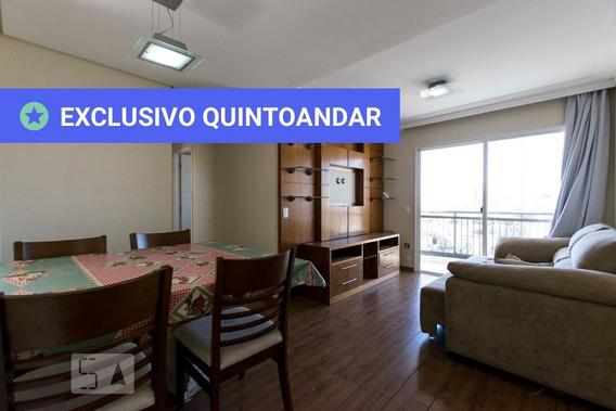 Apartamento No 12º Andar Mobiliado Com 2 Dormitórios E 1 Garagem - Id: 892805006 - 105006