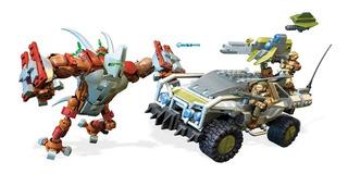 Mega Construx Halo Forge Warthog 663 Piezas Msi Ng