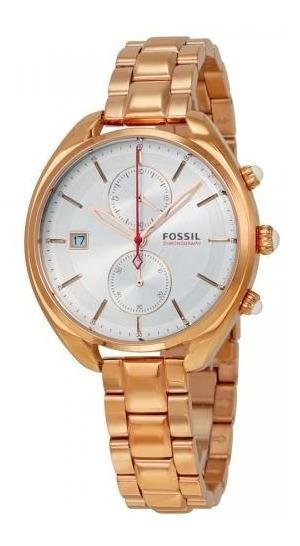 Relógio Feminino Dourado Analógico Fossil Ch2977