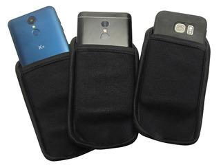 Capa Case Capinha Proteção Queda Celular Smartphone Neoprene