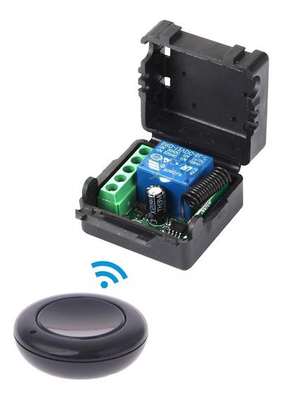 Acionamento Botão Rele Sem Fio Interruptor 12v 1 Canal