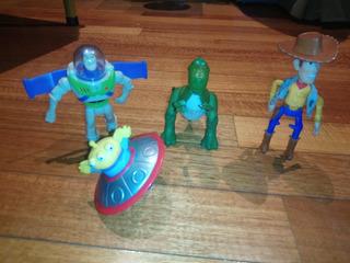 Muñecos Toy Story Mc Donallds 2000