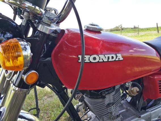 Honda Cg 125cc. Año 1981