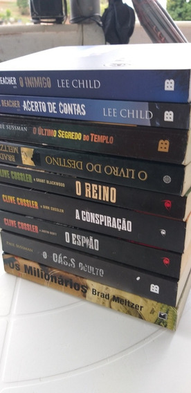 Livros Bestseller..valor 9 Livros..literatura Estrangeira