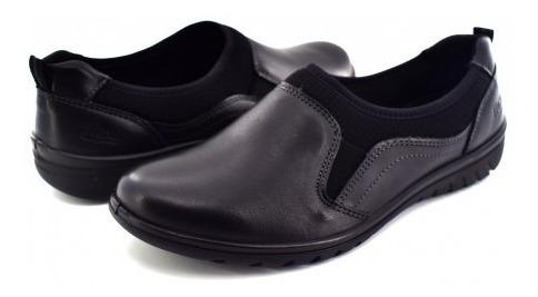 Zapato Confortflexi 35301 Negro Jane 22.0-27.0 Damas