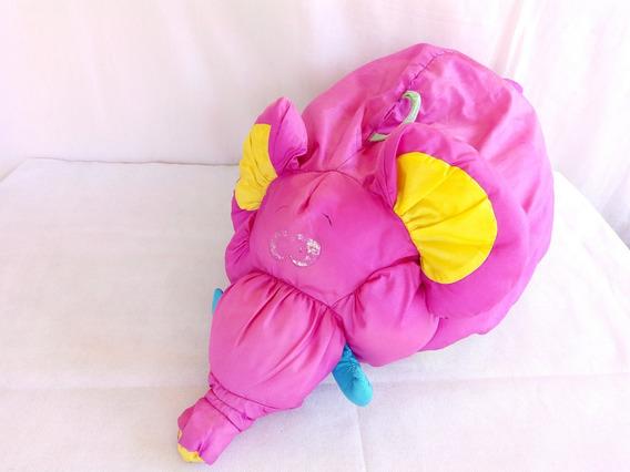 Fisher Price Pelucia Elefante Antigo 1995 Mattel
