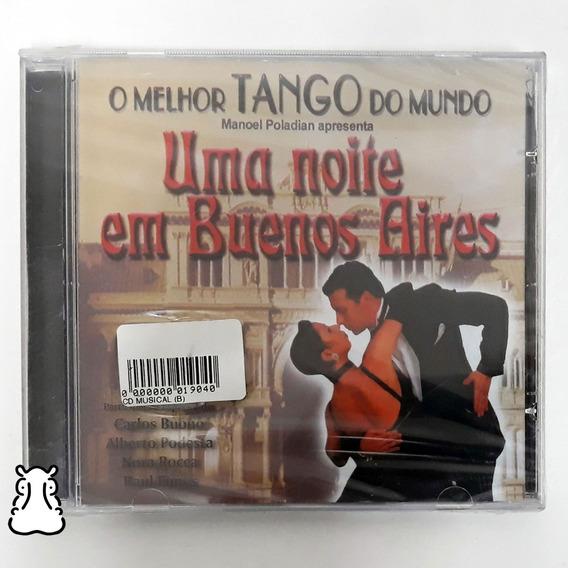 Cd O Melhor Tango Do Mundo Uma Noite Em Buenos Aires Lacrado