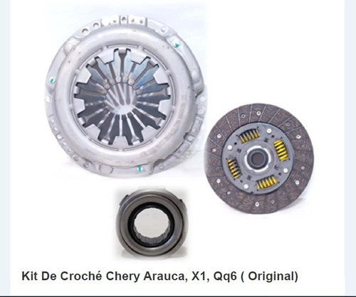 Kit De Croché Chery Arauca, X1, Qq6, ( Original