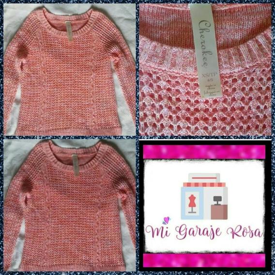 Suéter Tejido Para Niña