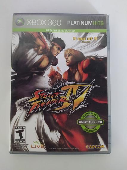 Street Fighter Iv Platinum Hits Xbox 360 - Original