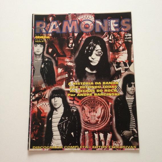 Revista General Especial Ramones A História Da Banda Cc112