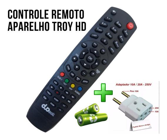 Controle Remoto Aparelho Hd Digital 4k Full Hd 5.1dsp+brinde