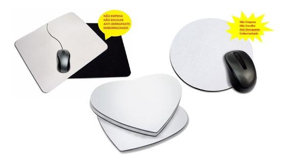 200 Mouse Pad Para Sublimação Redondo Neoplex 3mm Emborracha