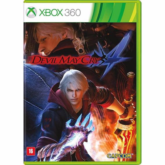 Jogo Devil May Cry 4 Xbox 360 - Mídia Física - Barato!