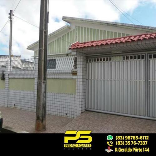 Belíssima Casa Com 5 Qts Sendo 3 St À Venda, 342 M² Por R$ 399.000 - Jaguaribe - João Pessoa/pb - Ca0303