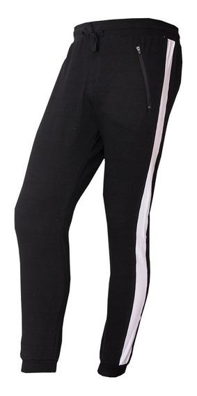 Jogger / Jogging Rustico Slim Con Recorte Lateral