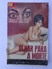 Zz7 Vermelha Nº 12 Um Olhar Para A Morte - Brigitte Montfort