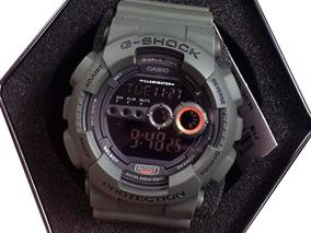 Relógio Casio G-shock Gd-100ms-3dr *military* Importado Usa