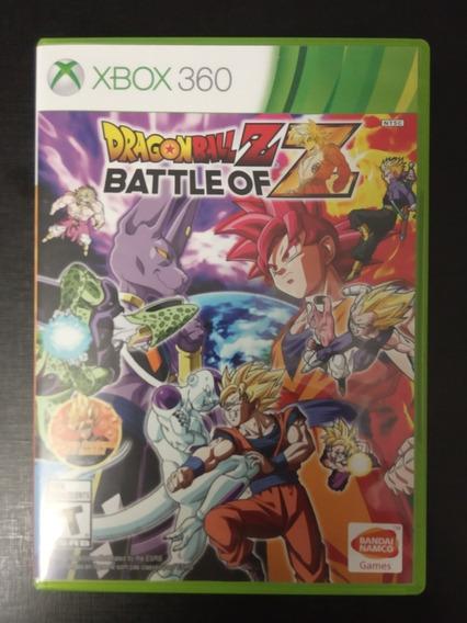 Dragonball Z Batle Of Z Xbox 360