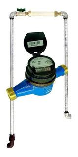 Hidrômetro Multijato Medidor De Água 1/2 + Cavalete Copasa