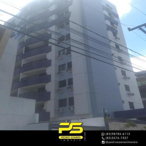 Apartamento Com 2 Dormitórios À Venda, 77 M² Por R$ 280.000 - Tambaú - João Pessoa/pb - Ap4196