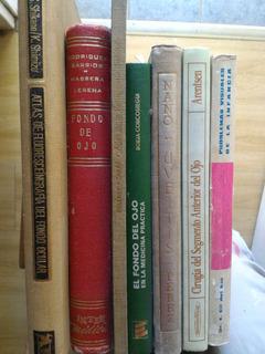 Lote Libros Oftalmologia X 8. Envio Gratis