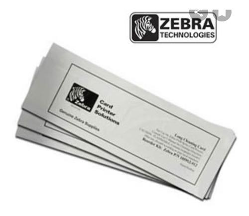 Kit De Limpieza Para Carnetizadora Zebra 5 Pza Larga