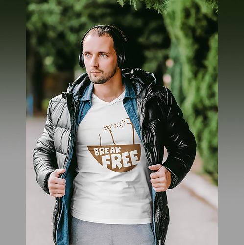 Imagem 1 de 2 de Camiseta Break Free