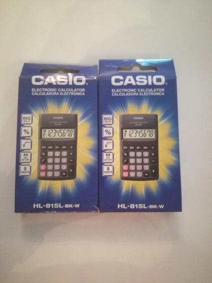 Calcuradora Casio 8 Digitos Hl-815l-bk-w