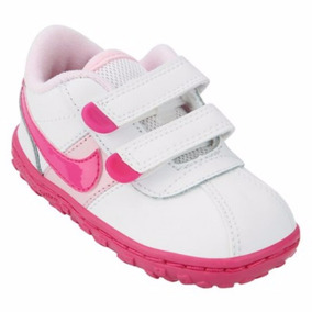 Tênis Nike Sms Roadrunner Gt Baby Branco / Pink Tamanho 19