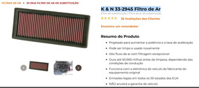 Filtro Ar Esportivo K&n Audi A4/ A5/ Q5 33-2945 Semi N