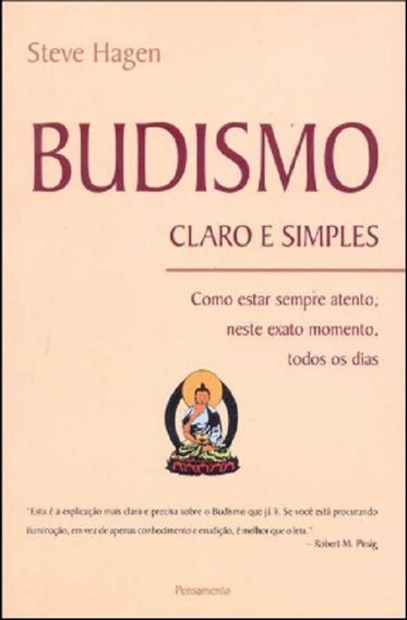 Livro Budismo: Claro E Simples - 6ª Reimpressão Steve Hagen