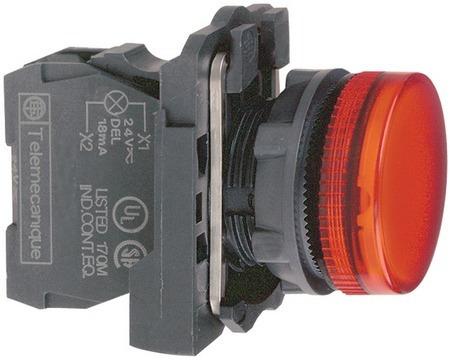 Sinalizador Vermelho Telemecanique Zbv-b4