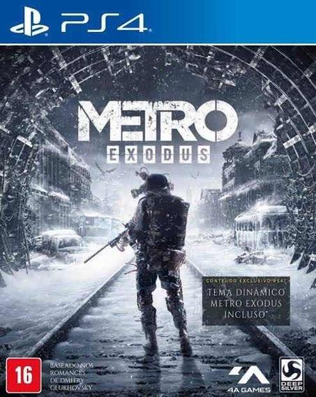 Jogo Ps4 Metro Exodus