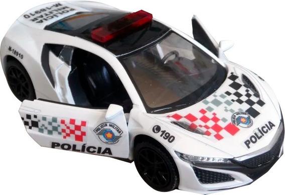 Miniatura Honda Nsx Polícia Militar Pm Sp - Atual