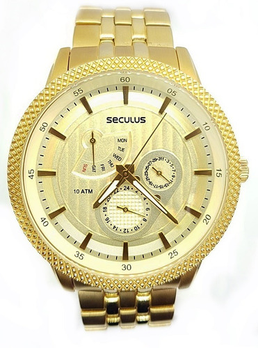 Relógio Seculus  Masculino 60609gpsgda2