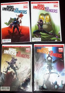 Comic Marvel Universe Vs The Avengers 1-4 Completo Limitada