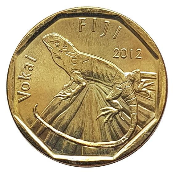 Ch C / Fiji, 1 Dollar 2012 Km#336