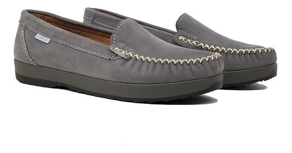 Mocasines Mujer Cuero Zapatos Chatitas Sabrina Tibay