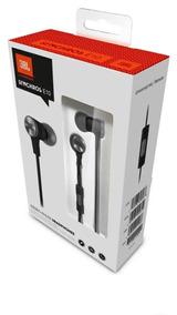 Fone De Ouvido Auricular In Ear E10 Preto E Branco