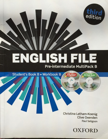 English File Pre-intermediate Multipack B