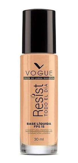 Base Líquida Resist Tono Natural Vogue