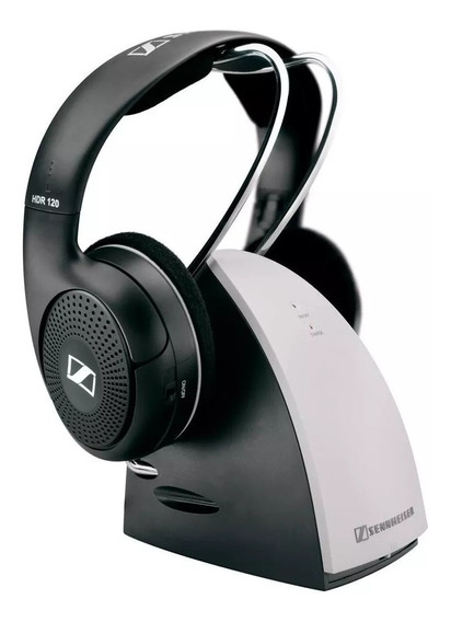 Fone Sennheiser Rs120-9 Sem Fio Headphone Wireless Stereo