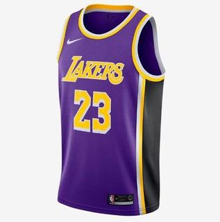 Regata Nba Swingman Los Angeles Lakers Oficial Frete Gratis
