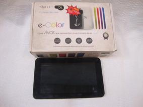 Tablet Dl E-color Com Defeito (sucata) Leia A Descrição