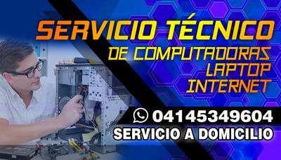 Servicio Técnico Computadora Laptop A Domicilio Chat En Vivo