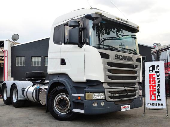 Scania R440 6x4 2014 Retarder Aut= R 440 R480 Fh 460 540 Mb