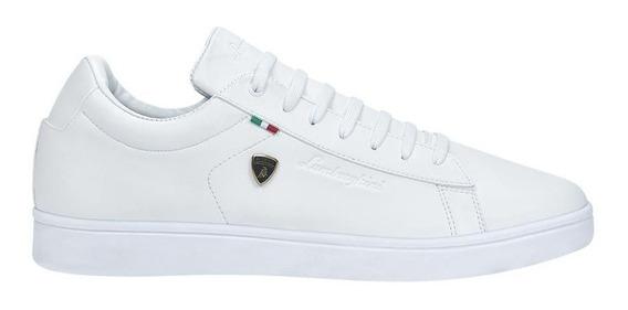 Tenis Casual Lamborghini 7785 Id 826533 Blanco Hombre